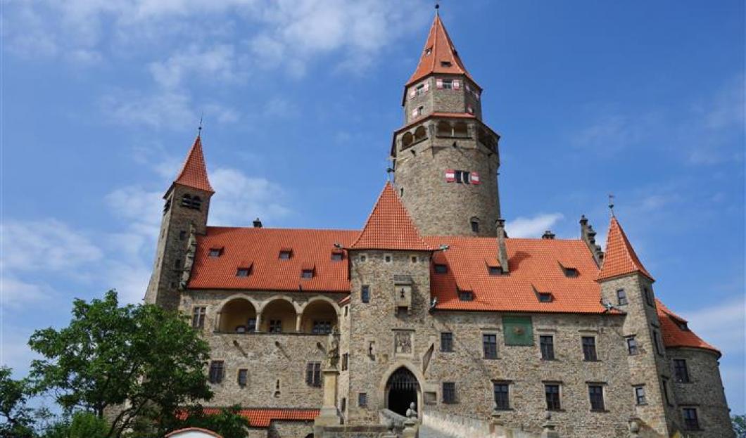 保佐夫城堡,捷克。