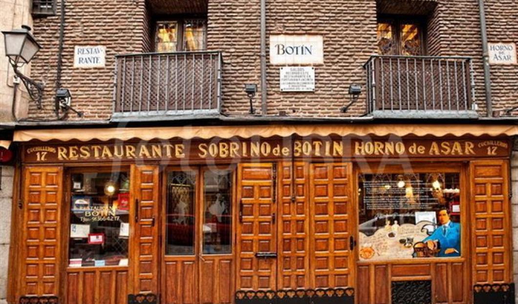 西班牙马德里,波丁餐厅