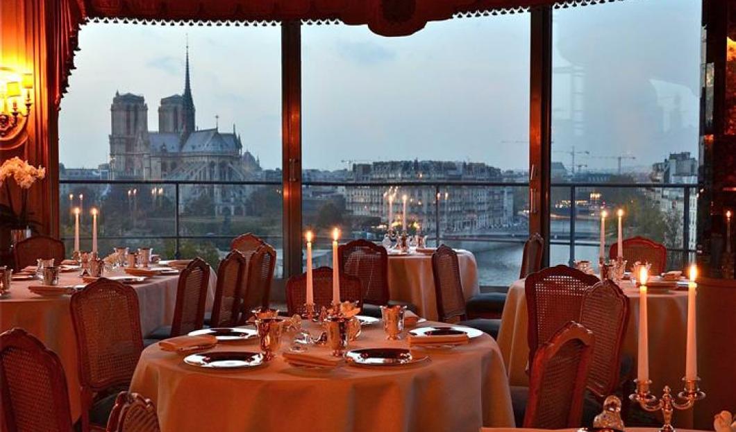 法国巴黎,La Tour d'Argent餐厅